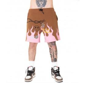 Comprar Short U2341 Minimal Couture Bermuda Smile Flame Pink