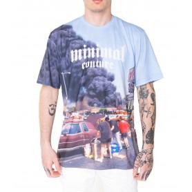 Comprar Camiseta U2346 Minimal Couture T-Shirt Burning Smoke In