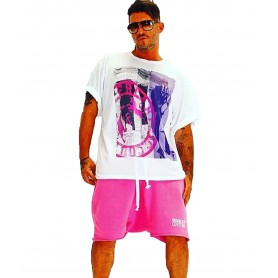 Comprar Camiseta Enzo5 Oversize Freakchic Purple Pink