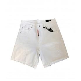 Comprar Short Jeans Cotton Bull G2 Firenze White