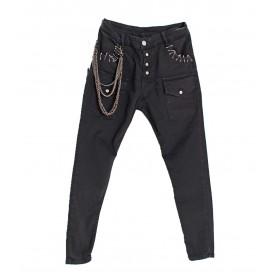 Comprar Jeans Black Denim Basic Freakchic