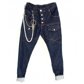 Comprar Jeans Blue Denim Basic Freakchic