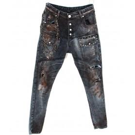 Comprar Jeans Blue Black Denim Freakchic Black