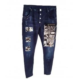 Comprar Jeans Dark Blue Denim Freakchic Blue