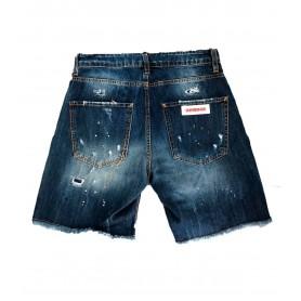 Comprar Short Jeans Flowers G2Firenze Blue