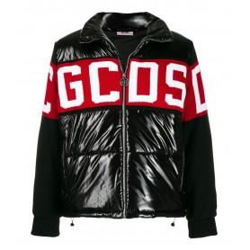 Comprar GCDS - Chaqueta de pluma para Hombre Negra con Logo en