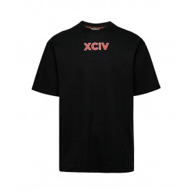 Comprar Camiseta FW21M020099 Gcds College Tee Black