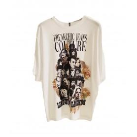 Comprar Camiseta Legends Tee Oversize Freakchic White