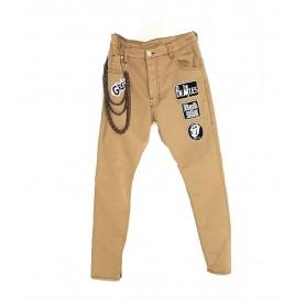 Comprar Jeans Aviator Beige Jeans Freakchic