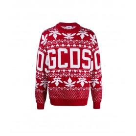Comprar Jerséis CC94M022203 GCDS Christmas Sweater Red