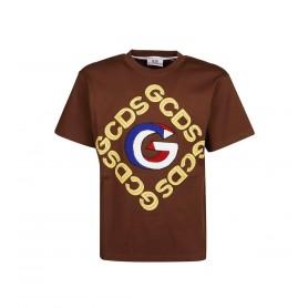 Comprar Camiseta FW21M020056 Gcds 3d Logo Tee Browm