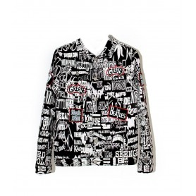 Comprar Chaqueta Printed Jacket Freakchic Black/White