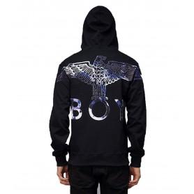 Comprar Sudadera 2147048 Boy London Boy Eagle Flock Hood Black