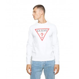 Comprar Sudadera M0BQ37K7ON1 Guess Sweatshirt Logo White