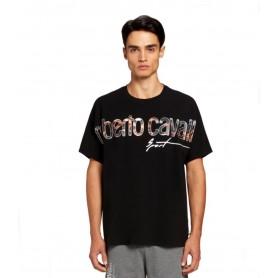 Comprar Camiseta LYX05T Roberto Cavalli Sport Tshirt Logo