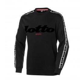Comprar Sudadera Lotto Athletica Classics II Sweat RN FT Black