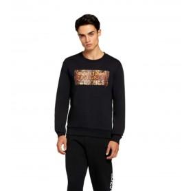 Comprar Sudadera Roberto Cavalli Sport Crewneck Sweatshirt Black