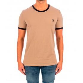 Comprar Camiseta Balmain Paris Cotton Jersey Elast Camel