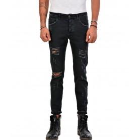 Comprar Jeans Xagon Man Skinny Stretch Nero