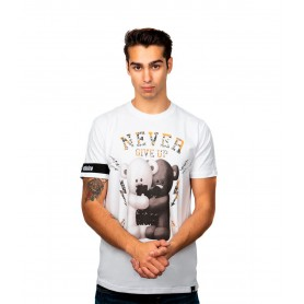Comprar Camiseta Th3 Choice Never Give Up White