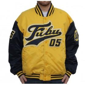 Comprar Chaqueta 6075075 Fubu Varsity Jacket Yellow Blue