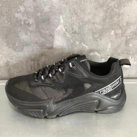 Comprar Zapatillas Roberto Cavalli Sneaker Nylon Suede Black