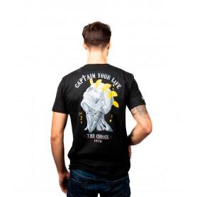 Comprar Camiseta 15183 Th3 Choice Gold Crown Black