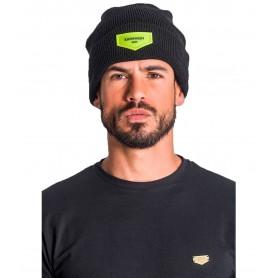 Comprar Gorro 1101 Gianni Kavanagh Black Beanie With Neon Green