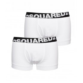 Comprar Calzoncillos Dsquared DCXC90030 Trunk Twin Pack White