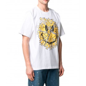 Comprar Camiseta 1990008 Chinatown Smiley Glass Tee White