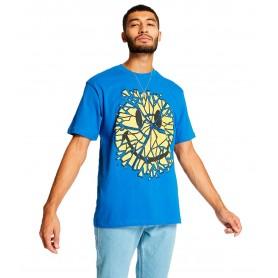 Comprar Camiseta 1990008 Chinatown Smiley Glass Tee Blue