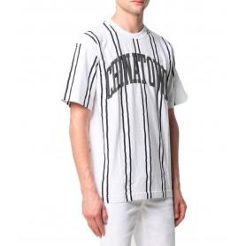 Comprar Camiseta 1990040 Chinatown UV striped Tee White