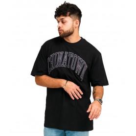 Comprar Camiseta 1990005 Chinatown Corduroy SS Tshirt Black