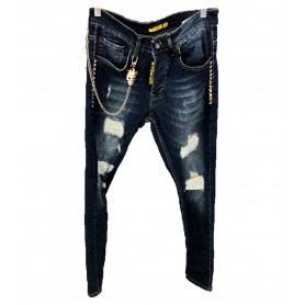 Comprar Jeans Punk Denim Mane-ko Blue