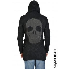 Comprar Xagon Man Cardigan Finezza 03 Black