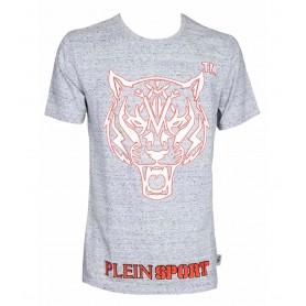 Plein Sport T-shirt Round Neck SS Tiger