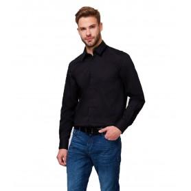 Comprar Camisa M0BH20W7ZK0 Guess Ls Sunset Shirt Black