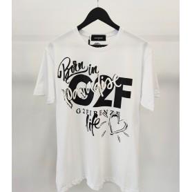 Comprar G2Firenze - Camiseta para Hombre Blanca - Paradise