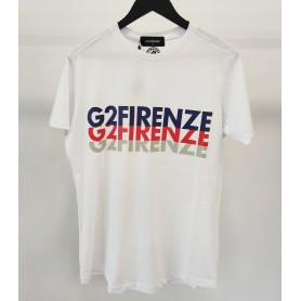 Comprar G2Firenze - Camiseta para Hombre Blanca - Eco