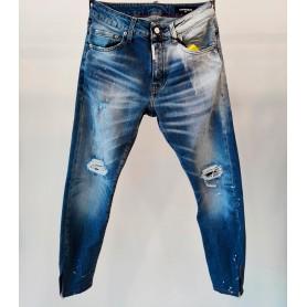 Comprar G2Firenze - Pantalón Vaquero para Hombre Azul - Jeans