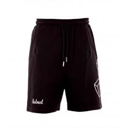 Comprar Butnot - Pantalón Corto para Hombre Negro - Logo 3D