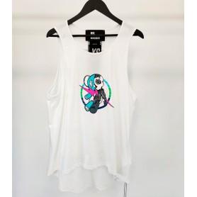 Comprar MWM - Camiseta para Hombre Blanca - Tirantes