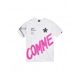 Comprar Comme Des Fucdown - Camiseta para Hombre Blanca - Manga