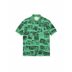 Comprar Lacoste Live - Polo Unisex Verde - Polaroid Loose Fit