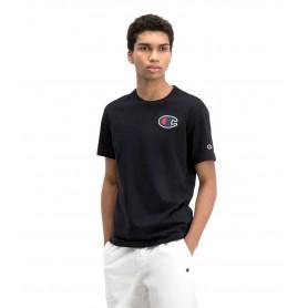 Comprar Champion - Camiseta para Hombre Negro - Satin C Logo