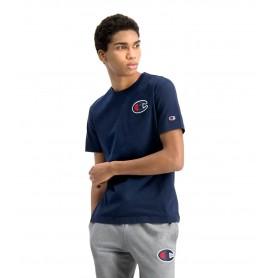 Comprar Champion - Camiseta para Hombre Azul - Satin C Logo
