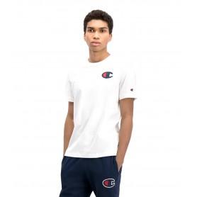 Comprar Champion - Camiseta para Hombre Blanco - Satin C Logo