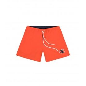 Comprar Champion - Bañador para Hombre Rojo - Satin C Logo Swim