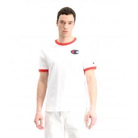 Comprar Champion - Camiseta para Hombre Blanca - Contrast C