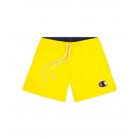 Comprar Champion - Bañador para Hombre Amarillo - Satin C Logo